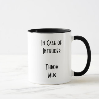侵入者のマグ マグカップ