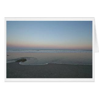 侵入--海およびビーチ カード