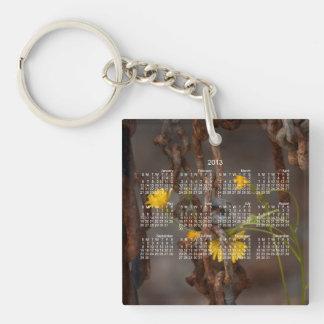 侵略的な花; 2013カレンダー キーホルダー