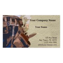 便利屋|用具|水彩画 ビジネスカード