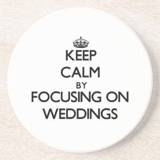 保って下さい 平静 集中 結婚式