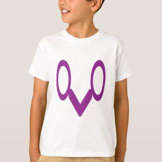 保存のlenseのギフトの下のおもしろいの記号を用いるTシャツ Tシャツ
