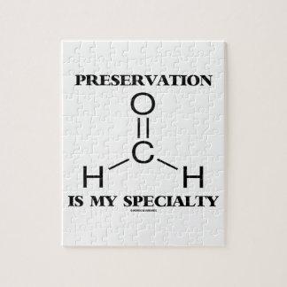 保存は私の専門のホルムアルデヒドの分子です ジグソーパズル