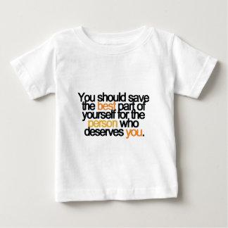 保存ベスト(白い) ベビーTシャツ