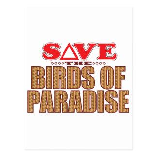 保存極楽鳥 ポストカード