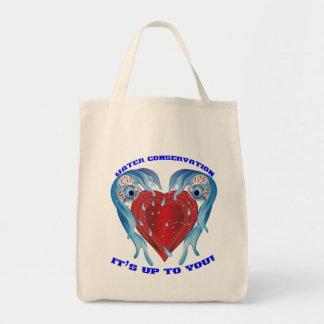 保存水ロゴ トートバッグ