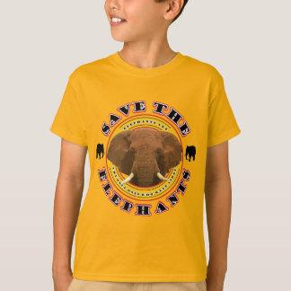保存象 Tシャツ