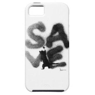 """""""保存""""の救助ペット! iPhone SE/5/5s ケース"""