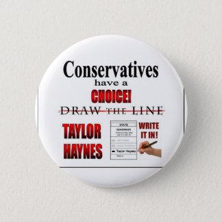 保守主義者に選択があります 缶バッジ
