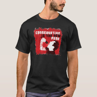 保守主義者は新しいパンクです Tシャツ