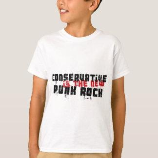 保守主義者は新しいパンクロックです Tシャツ