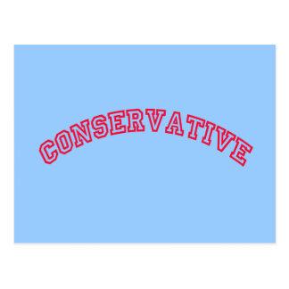 保守的なロゴ ポストカード