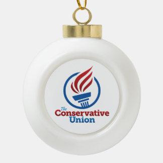 保守的な連合クリスマスのオーナメント セラミックボールオーナメント