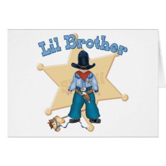保安官の弟 カード