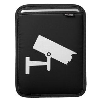 保安用カメラのピクトグラムのiPadの袖 iPadスリーブ