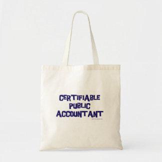 保証できる公共の会計士 トートバッグ