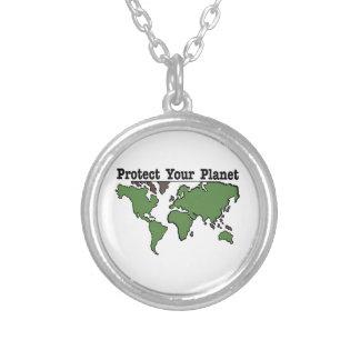 保護して下さい|あなたの|惑星 オリジナルジュエリー