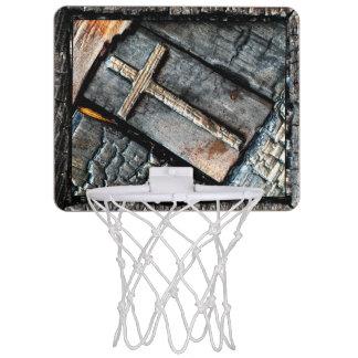 保護の十字 ミニバスケットボールネット
