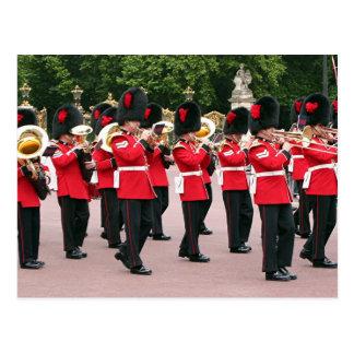 保護周波数帯、バッキンガム宮殿、ロンドン、イギリス ポストカード