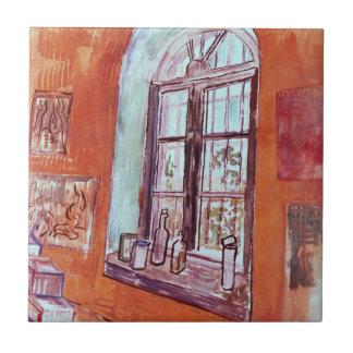 保護所のヴィンチェンツォのスタジオのゴッホの窓 タイル