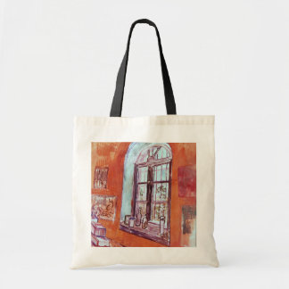 保護所のヴィンチェンツォのスタジオのゴッホの窓 トートバッグ