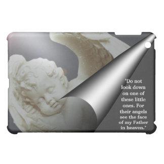 保護者の天使のベビーの眩ます視野のiPadの場合 iPad Miniケース