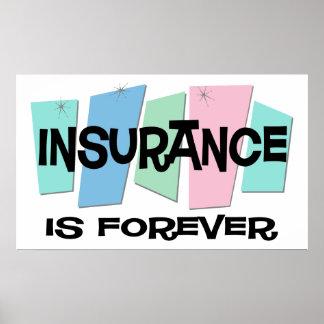 保険は永遠です ポスター