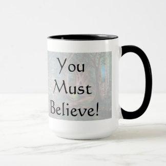 信じて下さいマグ(信号器)を マグカップ