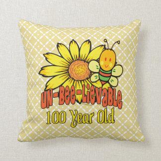 信じ難い100th誕生日- 100歳で クッション