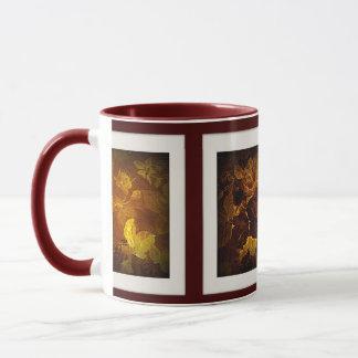 信号器のマグのノスタルジアの花 マグカップ