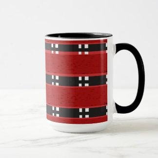 信号器のマグRED/BLACKのバー マグカップ
