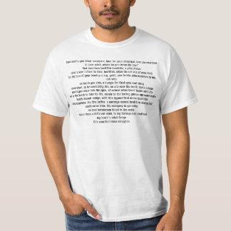 信心ぶった虐殺 Tシャツ