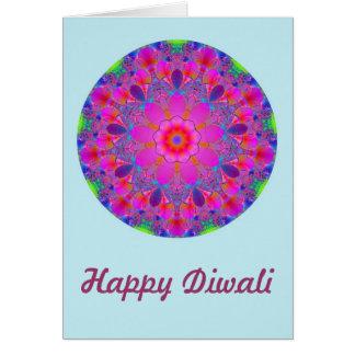 信念のカスタムの文字との幸せなDiwali カード
