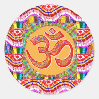 信念の献呈: OMmantra ラウンドシール