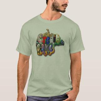 信用のゲームの芸術の人 Tシャツ