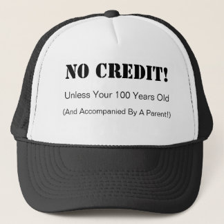 信用の帽子無し キャップ