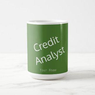 """""""信用分析家"""" コーヒーマグカップ"""