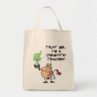信頼して下さい私を… 私は化学先生です トートバッグ
