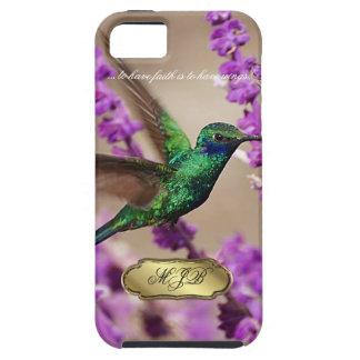 信頼のきらめくなすみれ色耳のハチドリの翼 iPhone SE/5/5s ケース