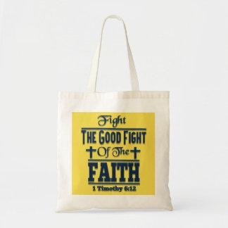 信頼のトートバックのよい戦いを戦って下さい トートバッグ