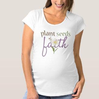 信頼のヒマワリの女性の妊婦のなTシャツ マタニティTシャツ