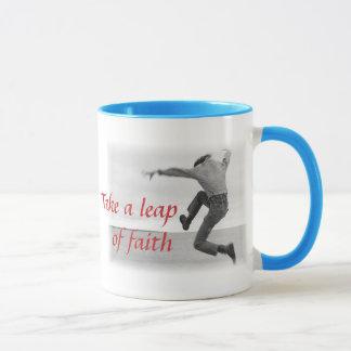 信頼のマグの跳躍 マグカップ