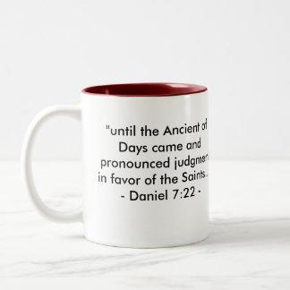 信頼の古代記号 ツートーンマグカップ