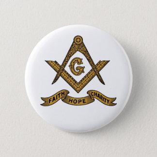 信頼の希望の慈善のフリーメーソンの紋章ボタン 缶バッジ