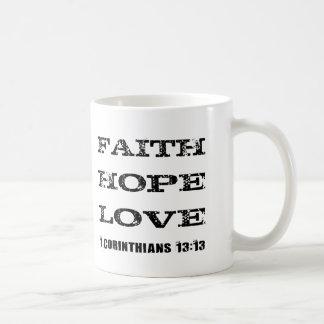 信頼の希望愛クラシックのマグ コーヒーマグカップ