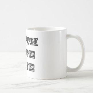 信頼の希望愛 コーヒーマグカップ