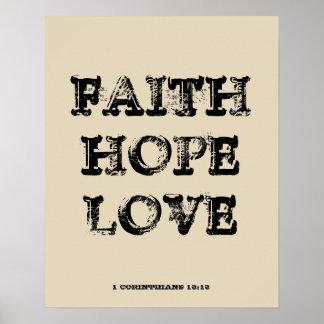 信頼の希望愛 ポスター