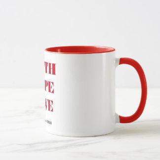 信頼の希望愛 マグカップ
