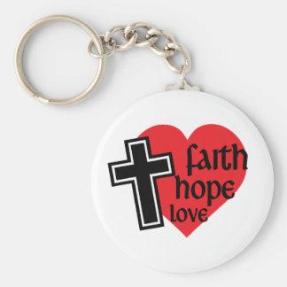 信頼の希望愛Keychain キーホルダー