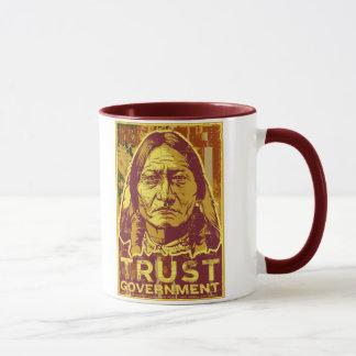 信頼の政府のマグ マグカップ